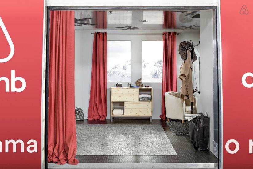 ambient marketing airbnb alpi francesi