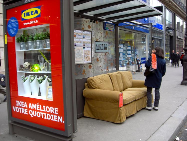 ambient marketing ikea francia
