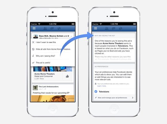 Facebook: USA si può controllare e gestire meglio la pubblicità in base ai  propri interessi
