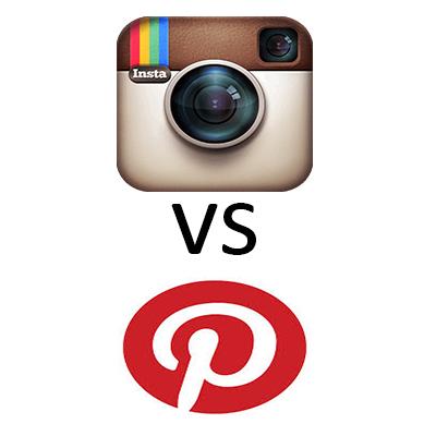 Instagram o Pinterest? A voi la scelta!