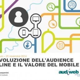 Audience online in Italia nel 2014 tra crescita e primato del mobile