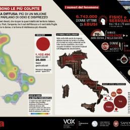 mappa dell'intolleranza