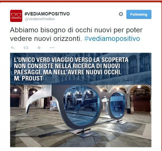 Top Social Campaigns: l'Italia twitta positivo.