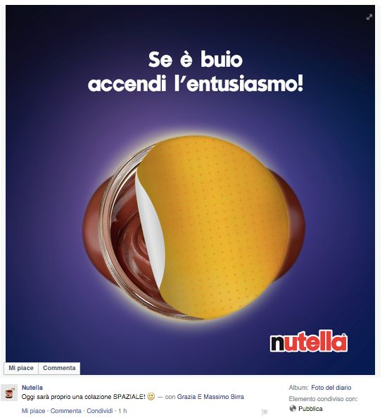 Nutella Eclissi