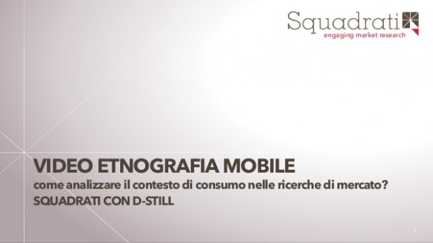 video etnografia mobile