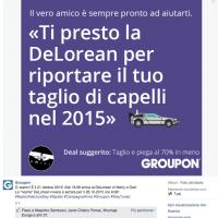 groupon #ritornoalfuturoday