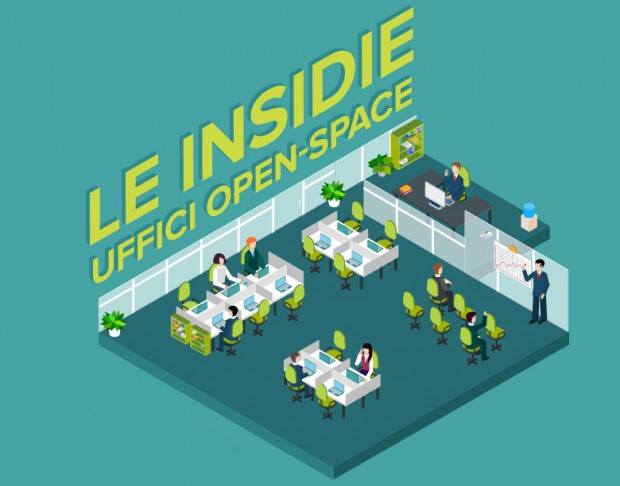 Uffici open-space: tra luci, ombre ed insidie.