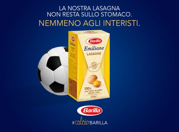 Instant marketing: cosa hanno in comune un pallone e un piatto di pasta?