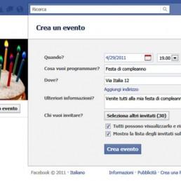 eventi su facebook arriva il limite di 500 inviti