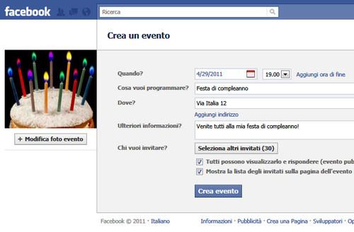 Eventi su Facebook: come fare in modo che siano efficaci