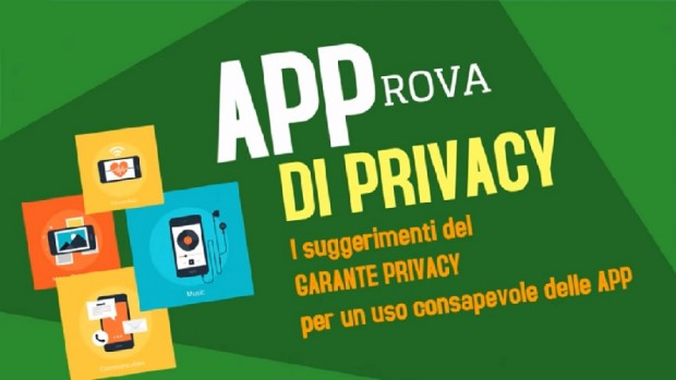 """App? Sì, solo se """"APProva di privacy"""""""