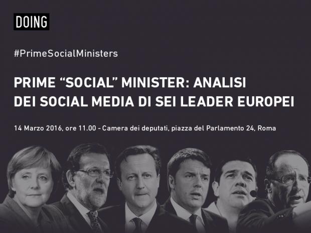Chi sono e cosa fanno (online) i Prime Social Ministers