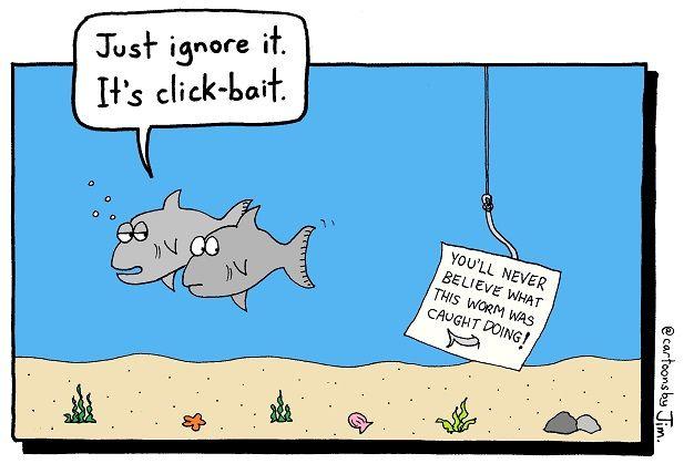 """Clickbait: i titoli """"acchiappa like"""" che fanno male al giornalismo digitale"""