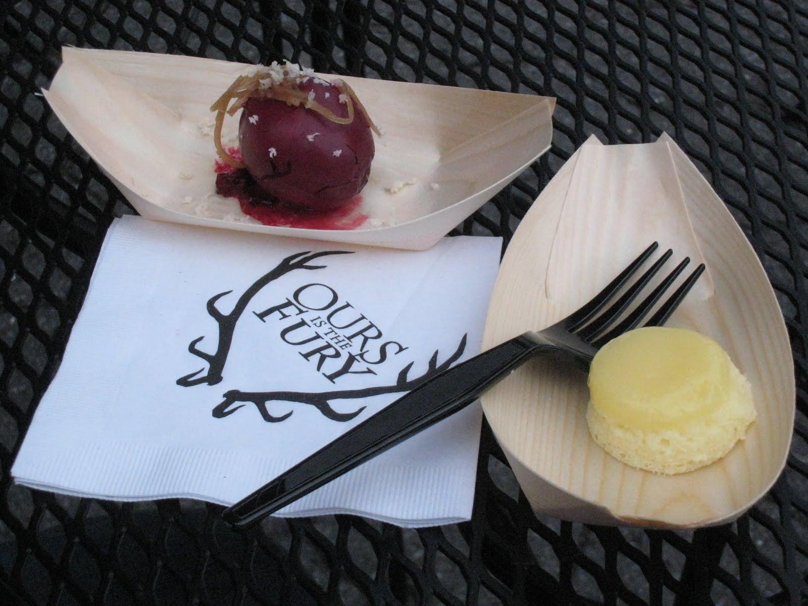 street food dello chef Tom Colicchio ispirato a Game of Thrones.