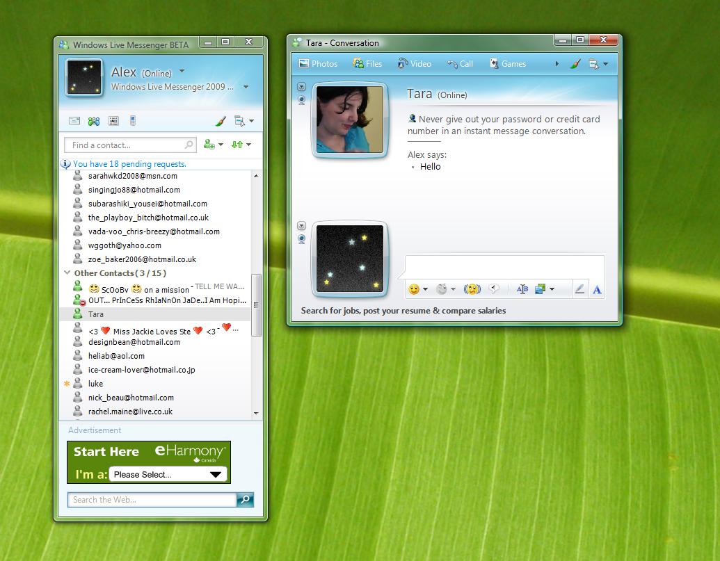 Microsoft e il primo social, MSN Messenger