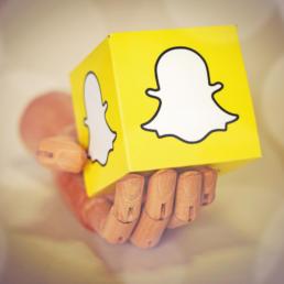 usare snapchat per il business