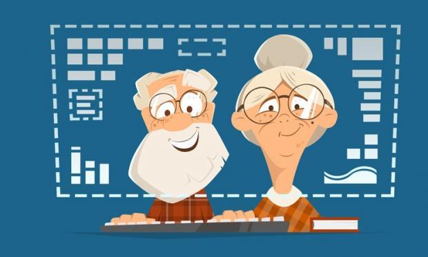 """Iperconnessi e digitali: la ribalta dei nonni """"social"""""""