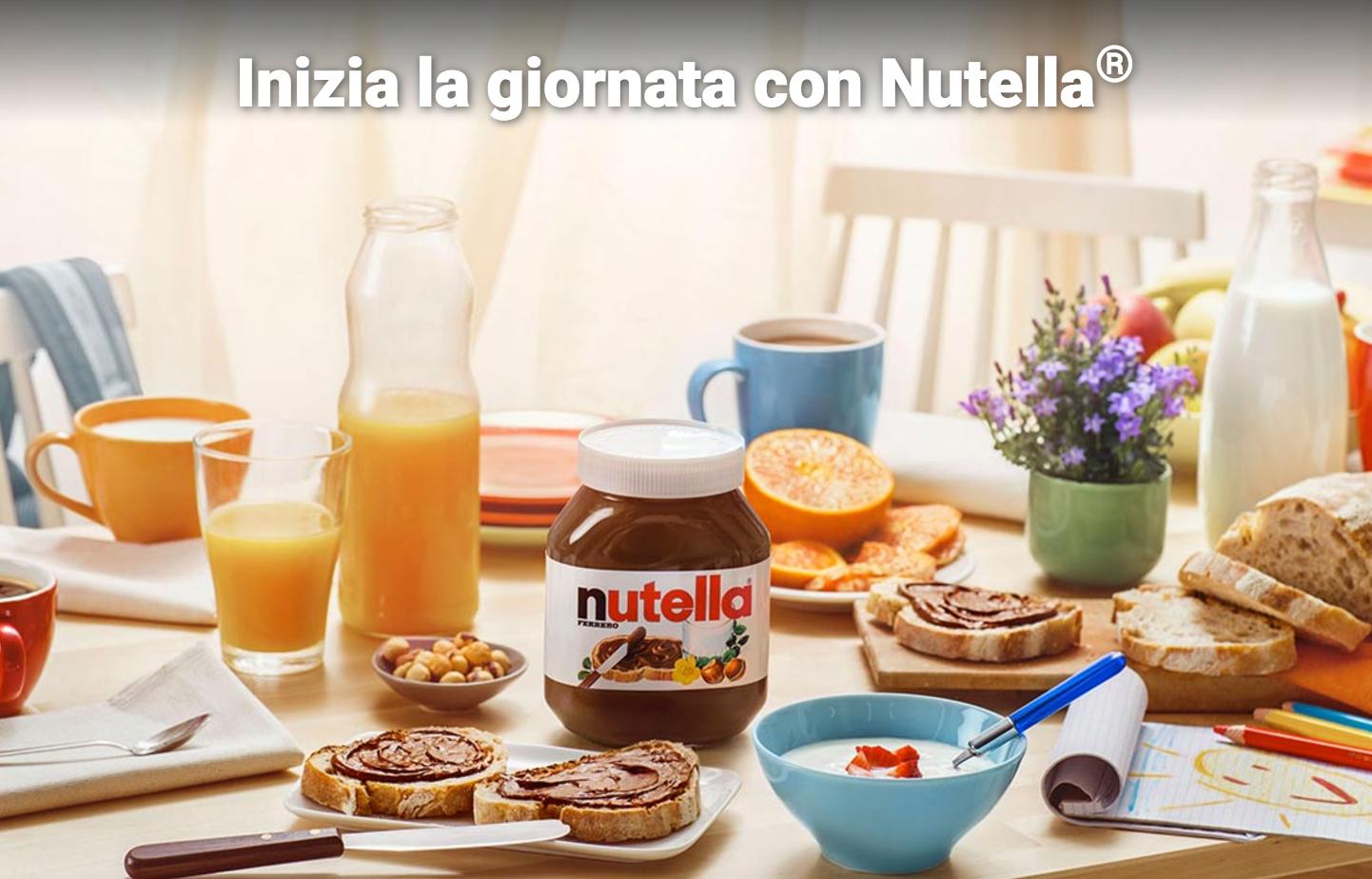 Lampada Barattolo Nutella Concorso : Comunicazione di nutella da carosello ai social: unanalisi