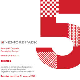 One More Pack 2018: premio sul Packaging Design Cartotecnico