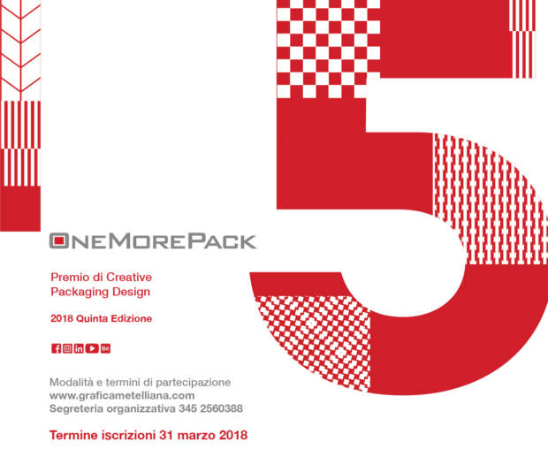 OneMorePack 2018: premio sul Packaging Design Cartotecnico