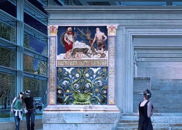 innovazione nei musei ara pacis