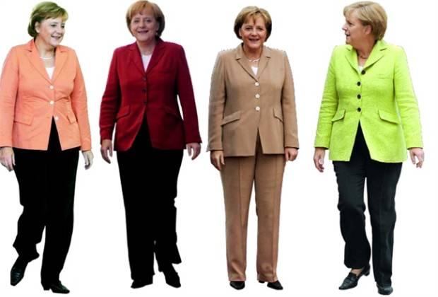 come si vestono i politici angela merkel