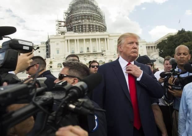 come si vestono i politici donald trump