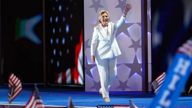 come si vestono i politici hillary clinton