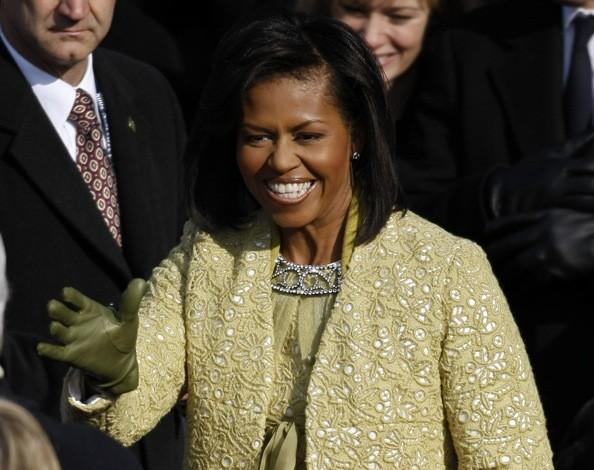 come si vestono i politici michelle obama