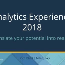 Analytics Experience 2018