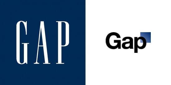 rebranding gap
