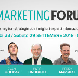 Marketing Forum 2018 Milano