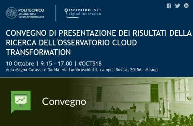 Osservatorio Cloud Transformation