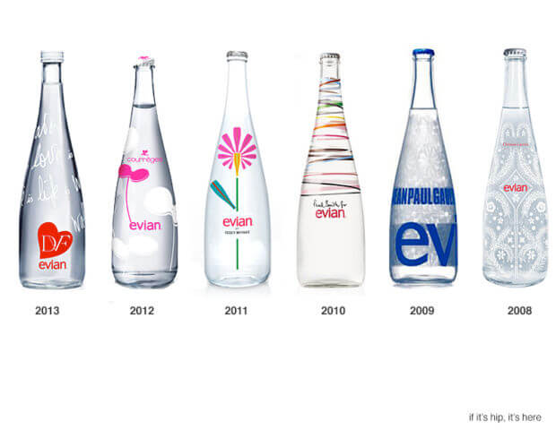 acqua evian special edition