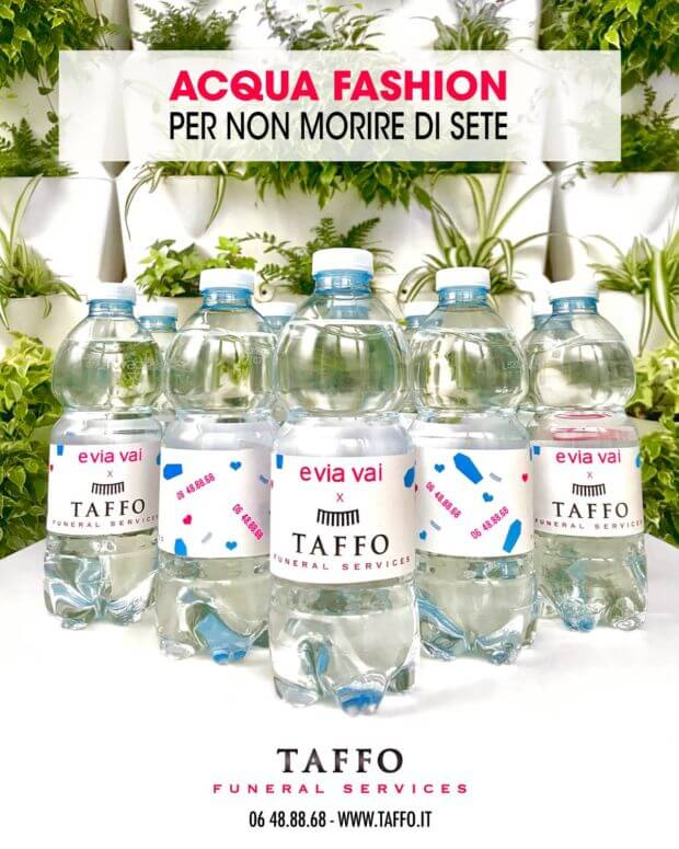 acque evian ferragni real time marketing taffo