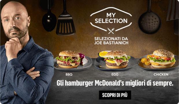 personal branding nel food bastianich mcdonald's