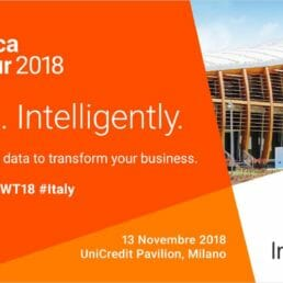 Informatica World Tour 2018 Italy