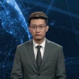 Giornalista virtuale: arriva il conduttore del tg creato con l'intelligenza artificiale