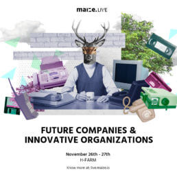 Future Companies & Innovative Organization di maize.LIVE