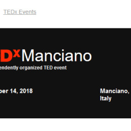 TEDxManciano 2018
