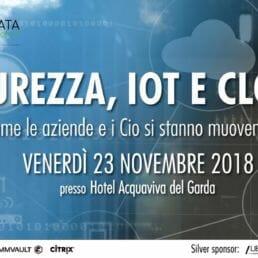 Sicurezza IoT e Cloud evento Personal Data