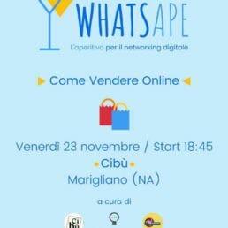 """WhatsApe. Incontro su """"come vendere online"""""""