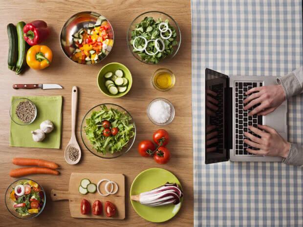 Settore del food: abitudini e consumi degli europei online