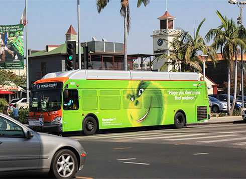 ooh the grinch autobus