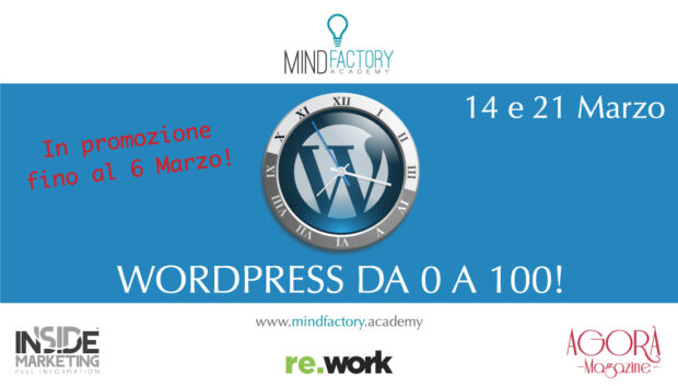 WordPress da 0 a 100!