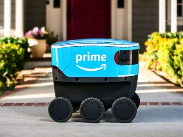 Arrivano i robot corriere: tra questi Amazon Scout, la novità per la consegna dei pacchi