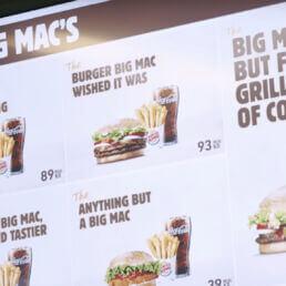 McDonald's vs Burger King: la lotta del fast food