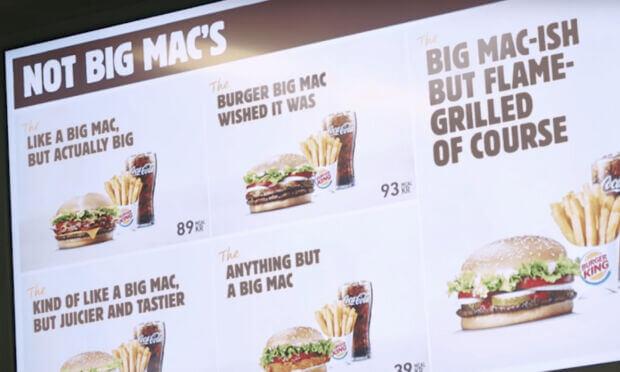 McDonald's vs Burgerg King: che ci fa il panino più iconico di uno nel menu dell'altro?