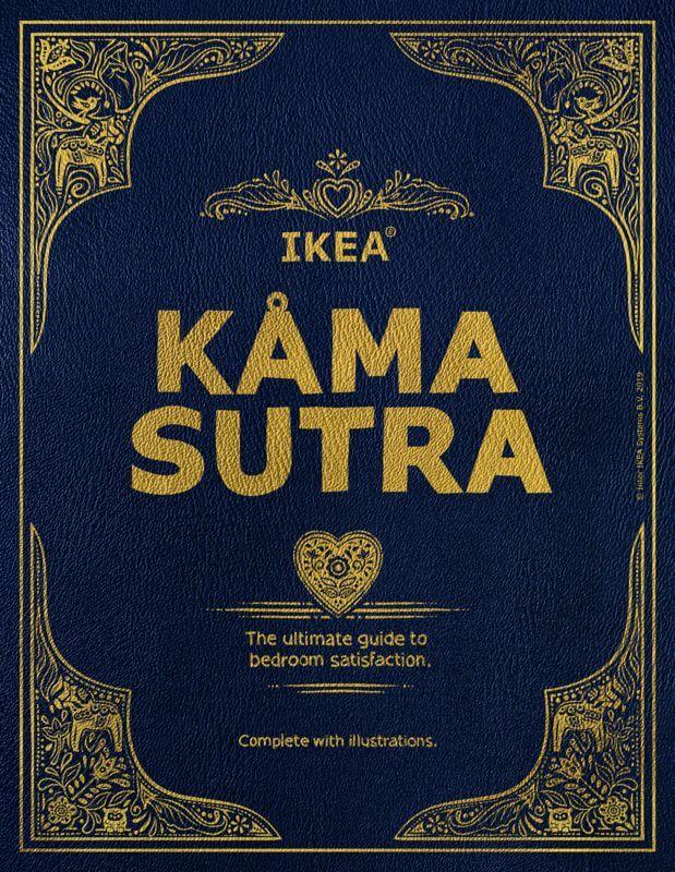 Il Kama Sutra riscritto da Ikea: una guida alla (dis)posizione ideale (degli arredi)