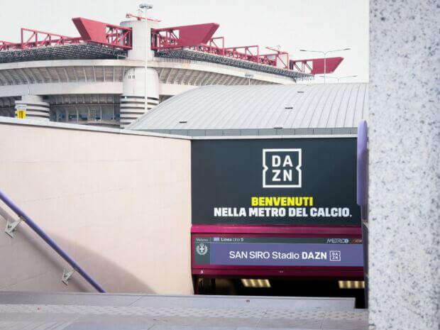 San Siro Stadio DAZN, capolinea della linea 5 a Milano